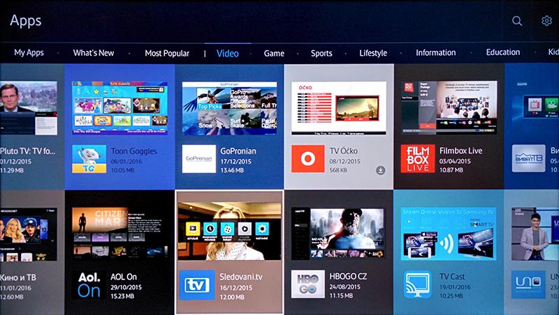 6cc412586 Zvolte kategorii Video a poté najděte aplikaci Modernitv