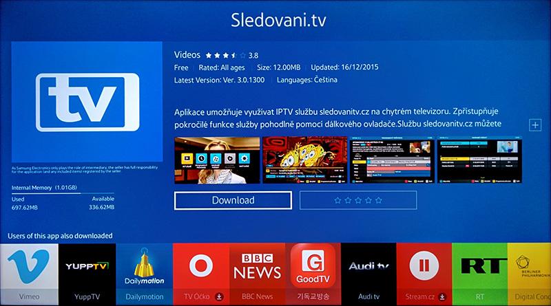 c49fc3865 Aplikace pro Samsung Smart TV Tizen | ModerniTV